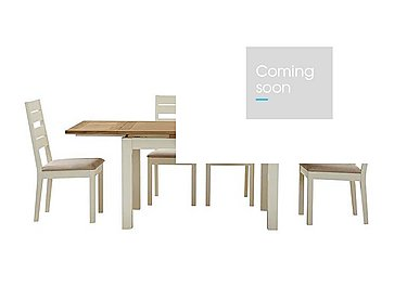Compton Extending Dining Table and 4 Slatted Chairs in  on FV