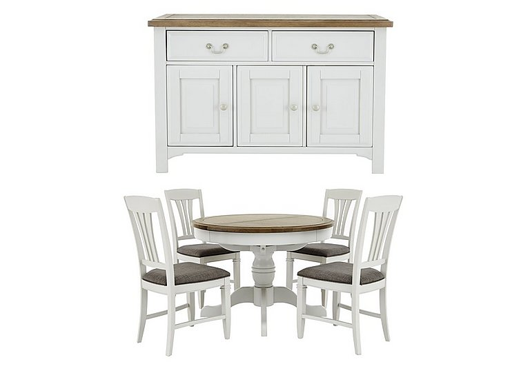 Cobham Dining Table with 4 Chairs & Sideboard in  on FV