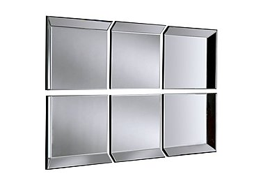 Byblos 6 Panel Mirror in  on FV