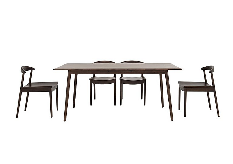 Cosmo Dining Table and 4 Chairs