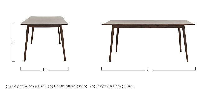 Cosmo Dining Table in  on Furniture Village