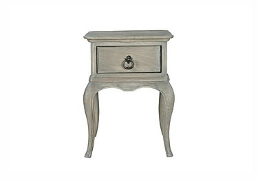 Camille Oak Bedside Table