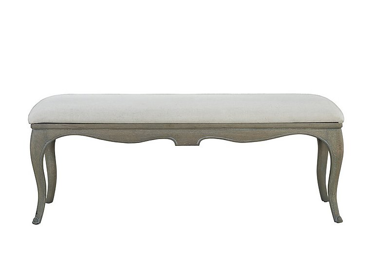 Camille Upholstered Bench in  on FV