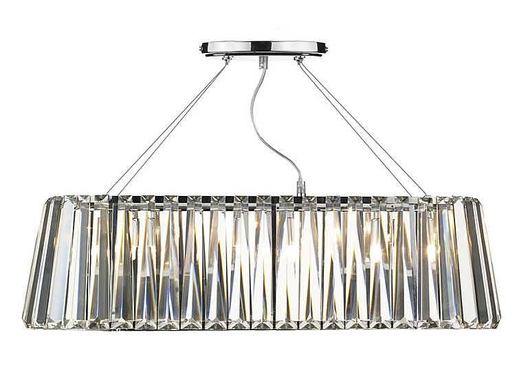 Cecilia 3 Light Pendant in  on FV