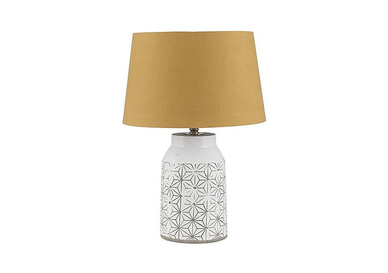 Cera Mustard Table Lamp in  on FV
