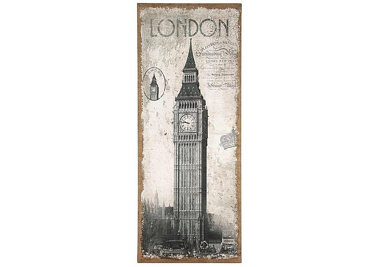 London Oblong Wall Canvas  in {$variationvalue}  on FV