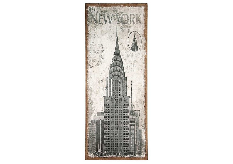 New York Oblong Wall Canvas in  on FV