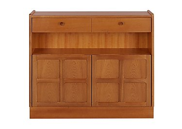 Classic Low Bookcase with Doors in  on Furniture Village