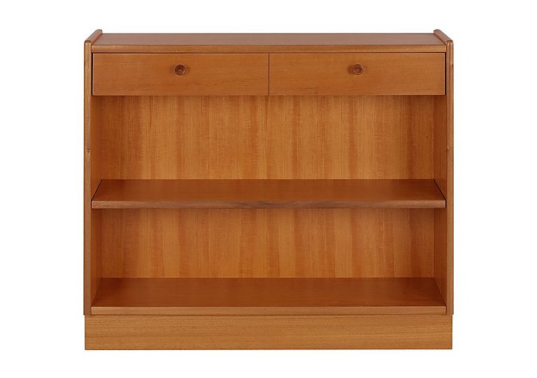 Classic Low Open Bookcase