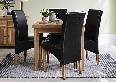 California Extending Flip Top Table in  on Furniture Village
