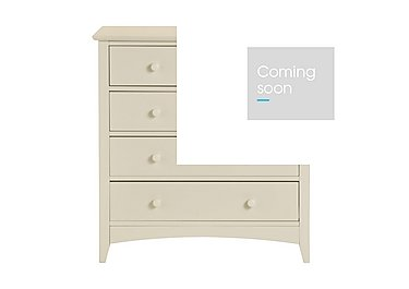 Chilton Stone White 5 Drawer Chest in  on FV