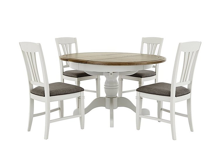 Attractive Cobham Round Table And 4 Chairs