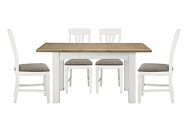 Cobham Rectangular Extending Table and 4 Chairs in  on FV