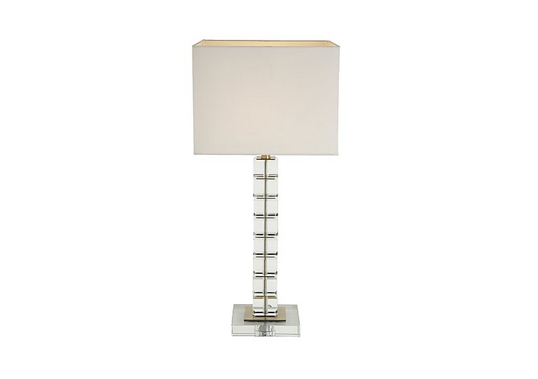 Crosby Crystal Table Lamp in  on Furniture Village