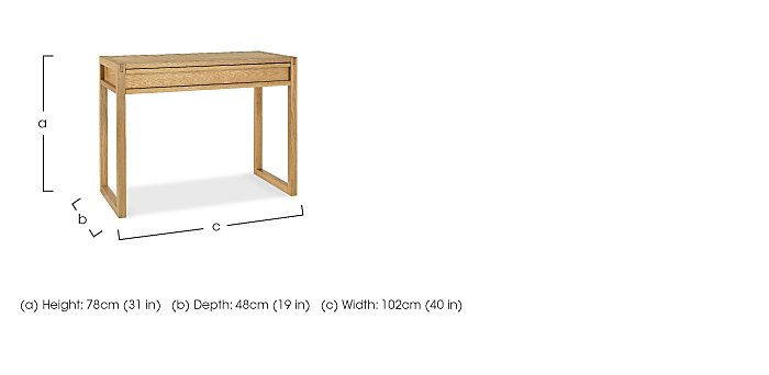 Dijon Home Office Desk