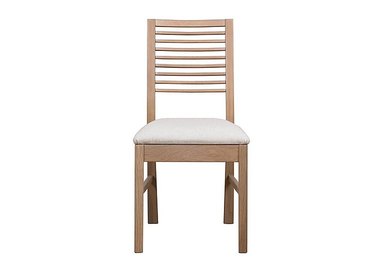 Dixon White Washed Oak Dining Chair in  on FV