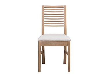 Dixon White Washed Oak Dining Chair
