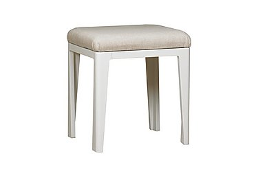 Dixon Painted Stool in  on Furniture Village