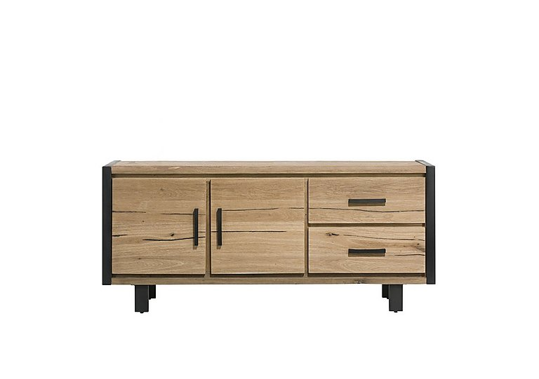 Detroit 2 Door 2 Drawer Small Sideboard