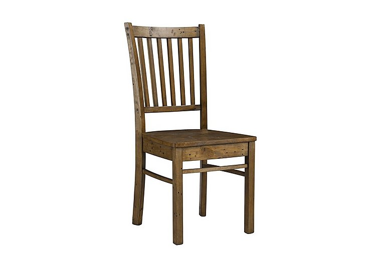 Eco Dining Chair with Wooden Seat
