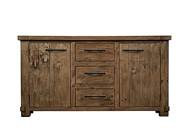 Eco Wide Wooden Sideboard