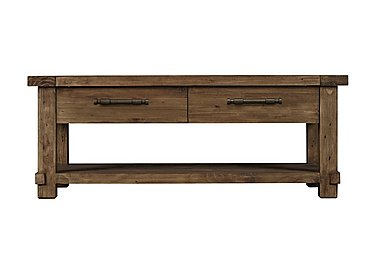 Eco Small Wooden Coffee Table in  on Furniture Village