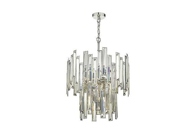 Edie 6 Light Pendant in  on FV