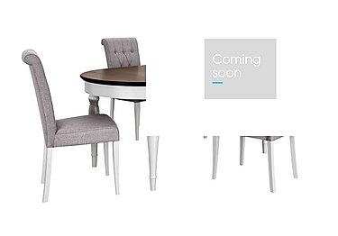 Emily Extending Table and 4 Upholstered Dining Chairs in  on FV