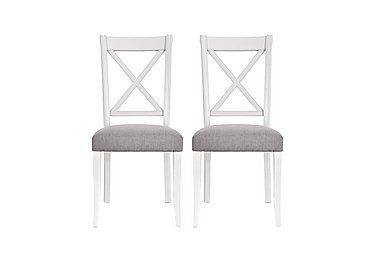 Emily Pair of Crossback Dining Chairs