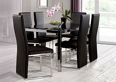 Glass Dining Tables glass dining tables - furniture village