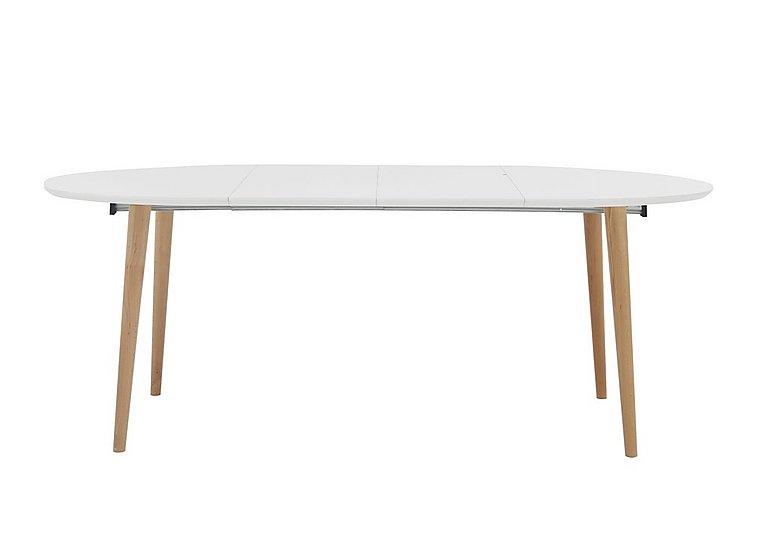 Espen Extending Oval Table 120/200cm in  on Furniture Village