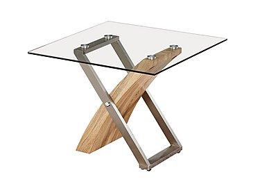 Evolution Glass Lamp Table in  on FV