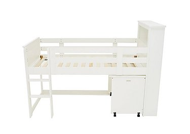 Explorer Mid Sleeper Bed with Desk in  on FV