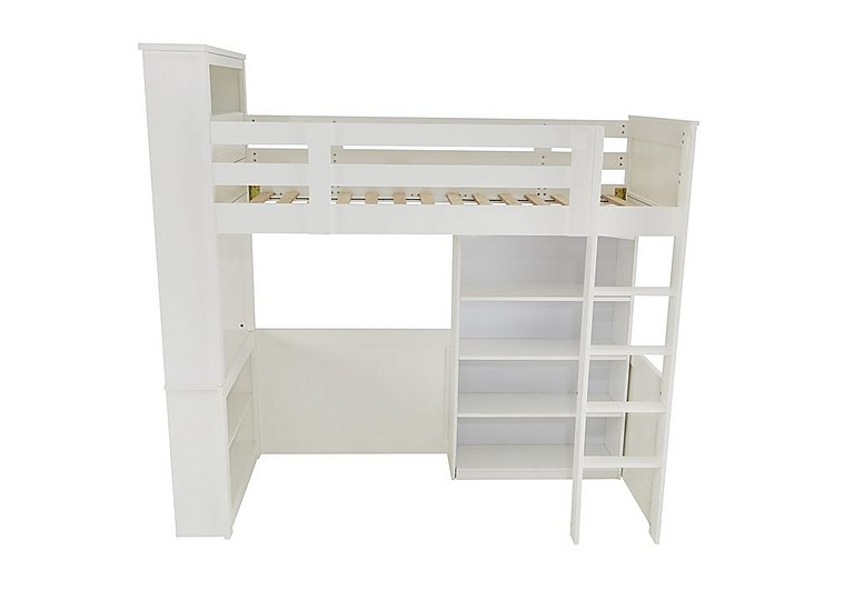 Explorer High Sleeper with Bookcase in  on FV