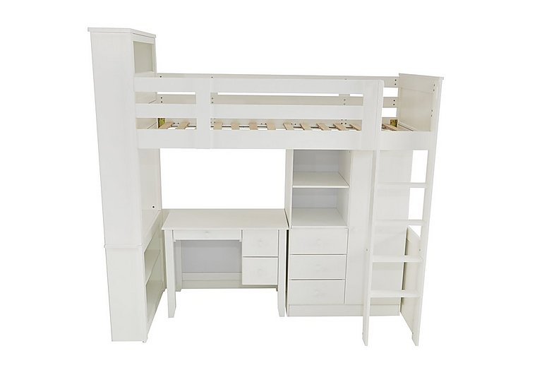Explorer High Sleeper with Wardrobe and Desk