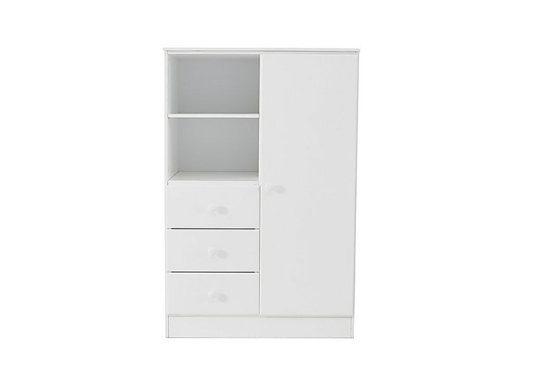 Explorer Wardrobe with 3 Drawers & Shelf in  on FV