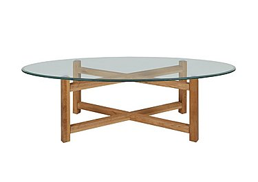 Glass coffee tables furniture village - Tables basses rondes en bois ...