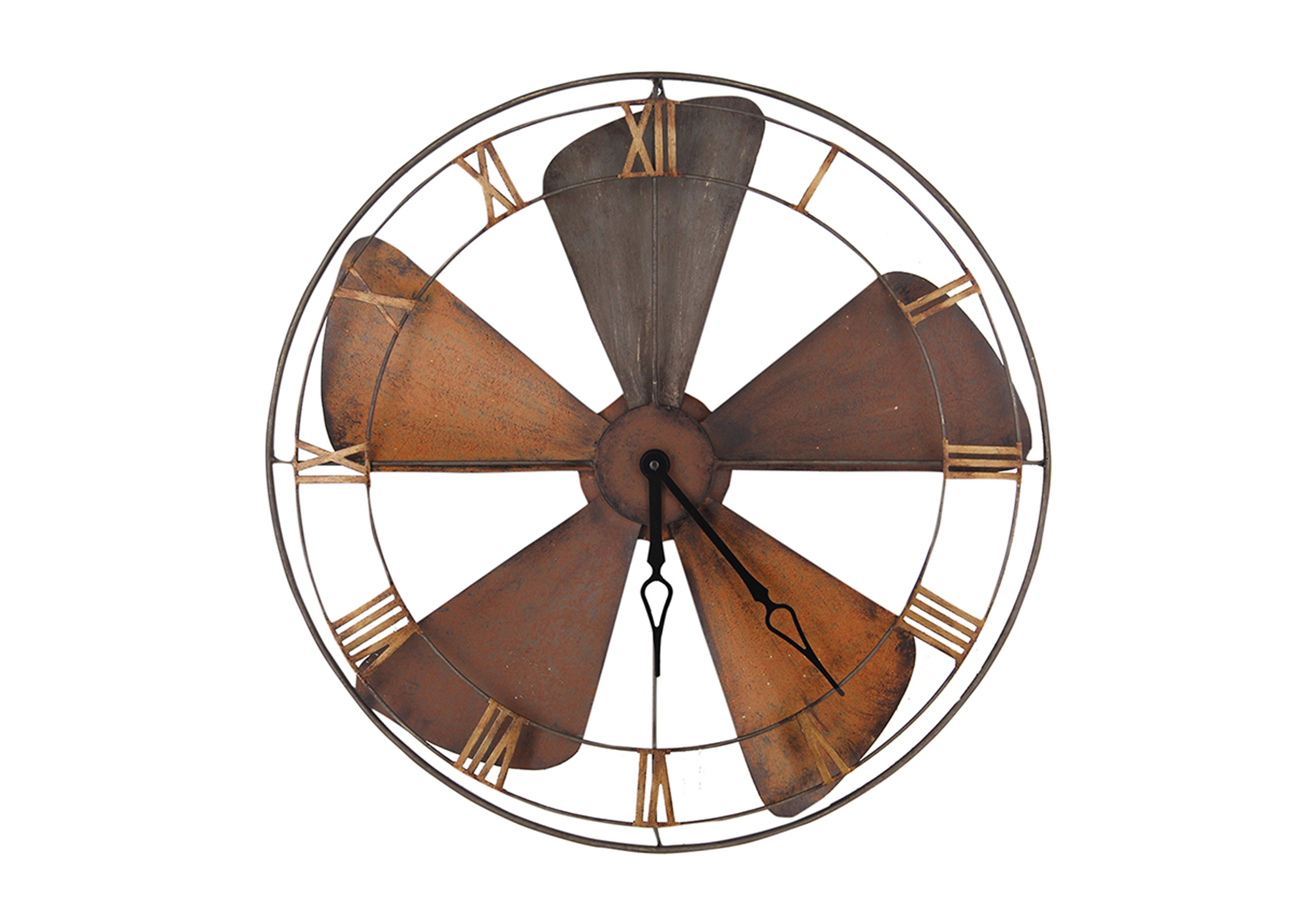 Fan Wall Clock Furniture Village