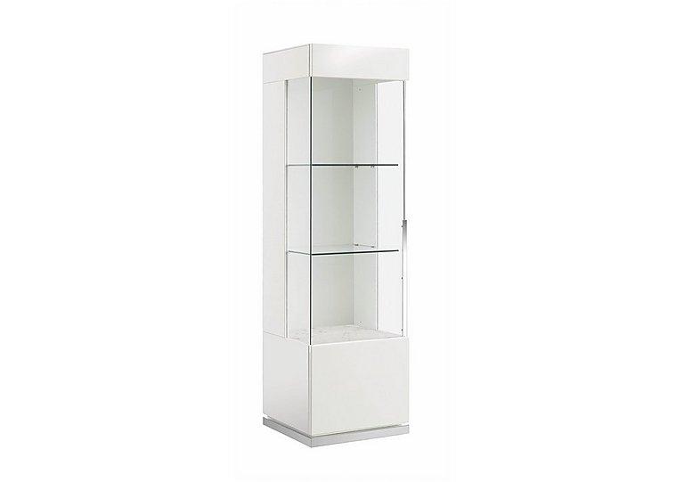 Fascino 1 Door Left Hand Curio Cabinet in  on FV