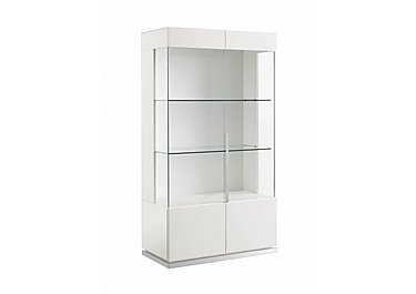 Fascino 2 Door Curio Cabinet in  on FV
