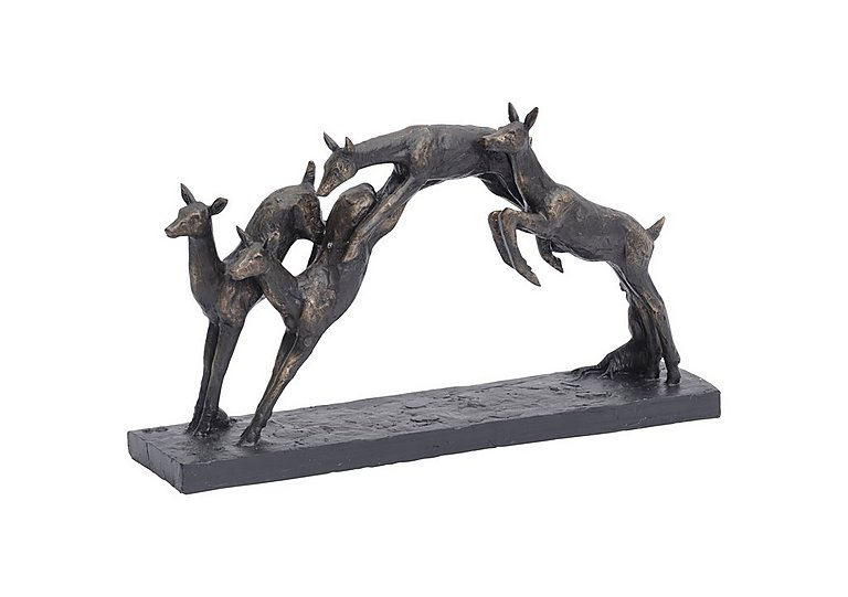 Leaping Fawns Sculpture in  on FV