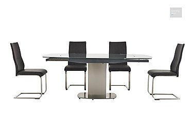 Flow Extending Dining Table and 4 Chairs  in {$variationvalue}  on FV