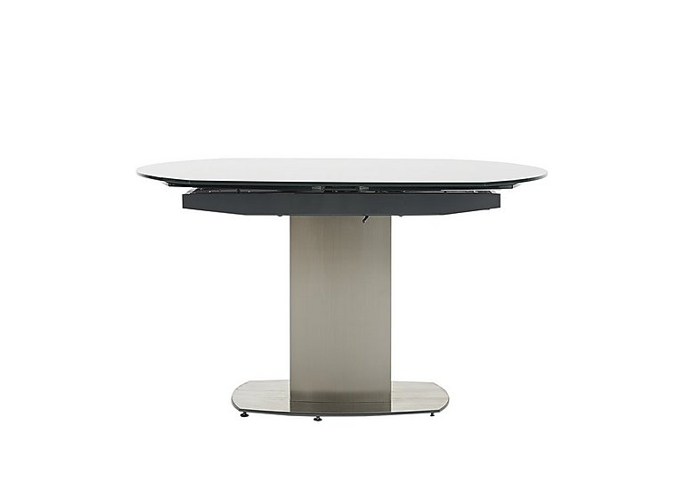 Flow Swivel Glass Extending Dining Table in  on Furniture Village