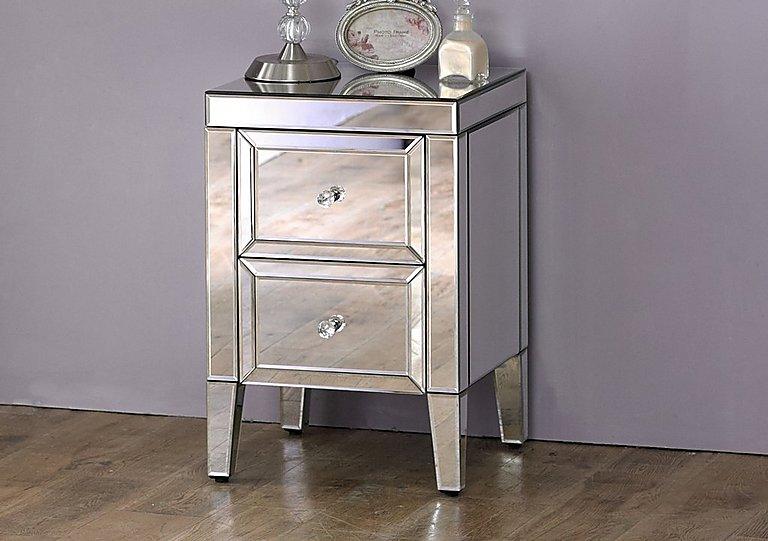 Francesca 2 Drawer Bedside Cabinet