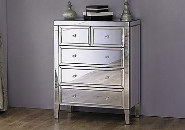 Francesca 3 + 2 Drawer Chest in  on FV
