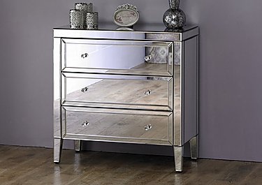 Francesca 3 Drawer Chest in  on FV