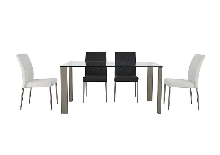Fuze Dining Table and 4 Chairs  in {$variationvalue}  on FV