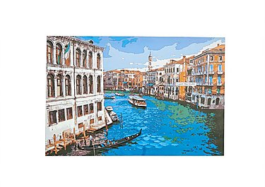 Grand Canal Picture in  on Furniture Village