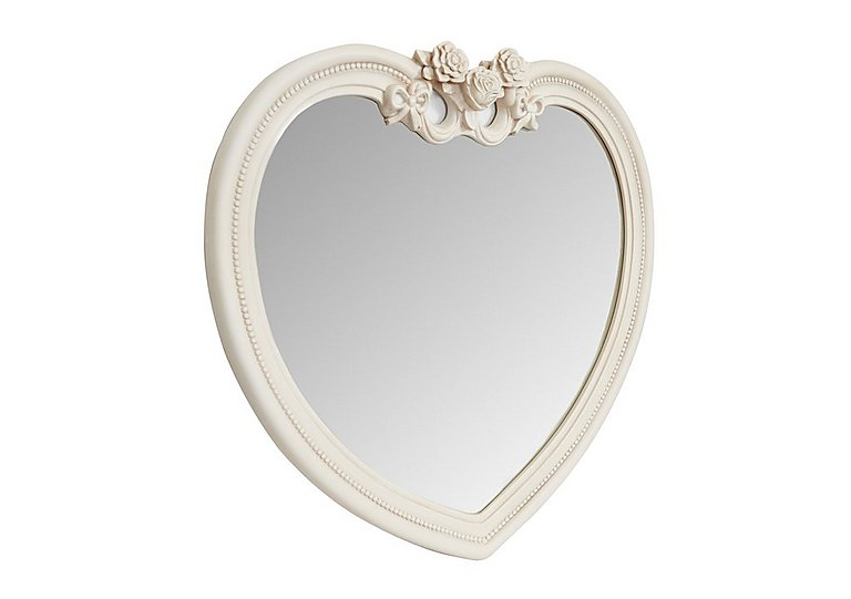 Heart Ivory Mirror in  on FV