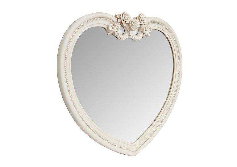 Heart Ivory Mirror